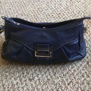 EUC Rosetti indigo colored purse